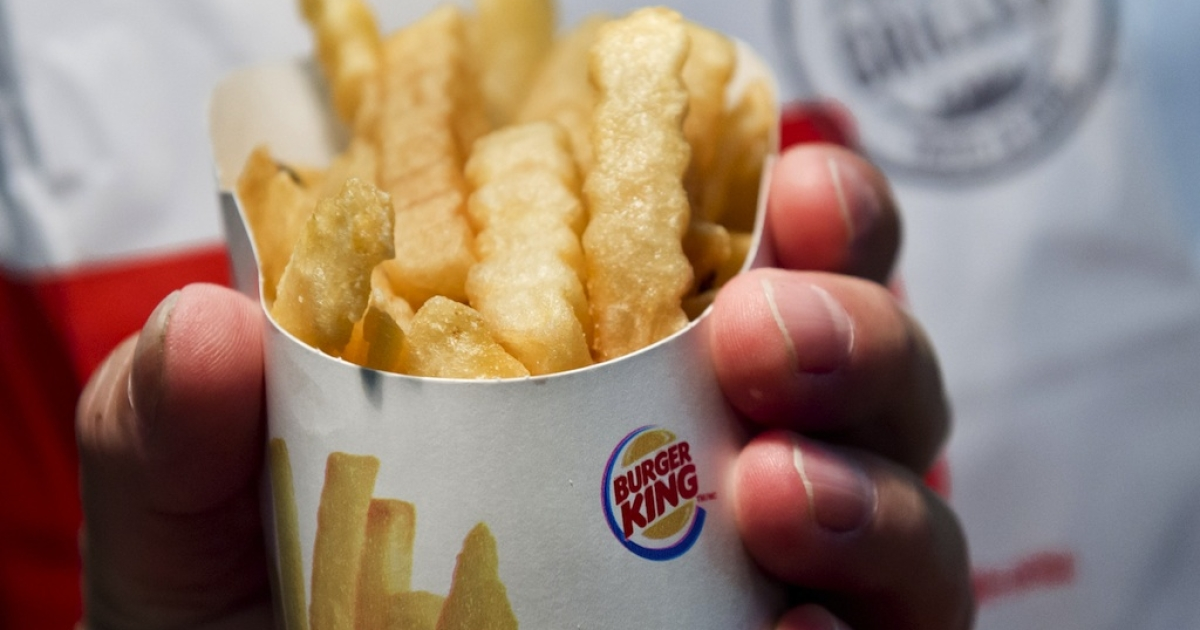 Burger King launched a lower-fat and lower-calorie French fry on Sept. 24, 2013, in the US.</p>