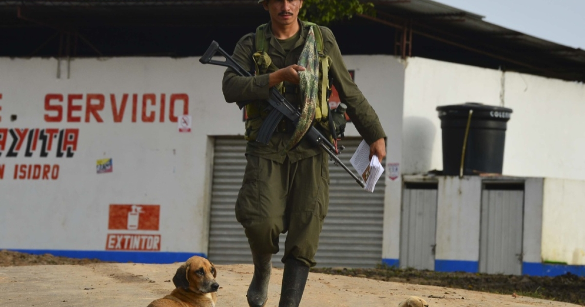 Will Colombia's FARC rebels swap their guns for ballots?</p>