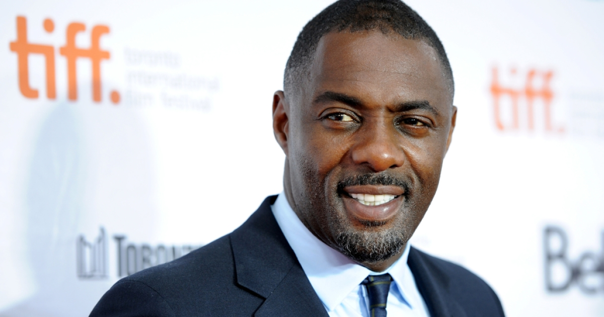 Actor Idris Elba attends the