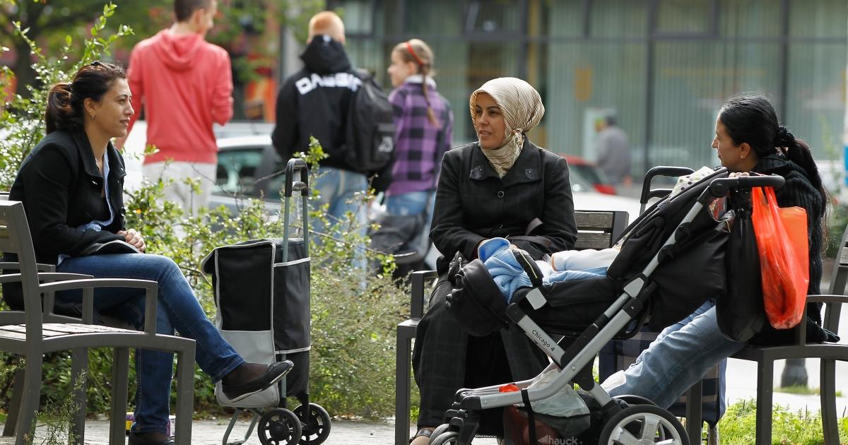 Kurds in Kreuzburg.</p>