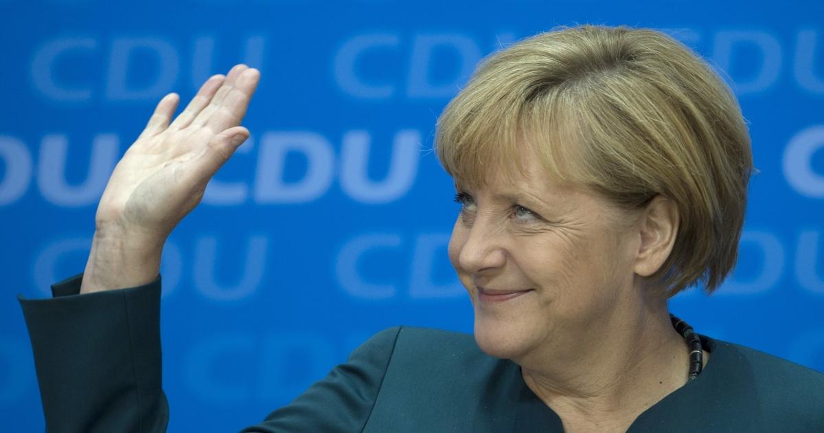 Merkel on Monday</p>