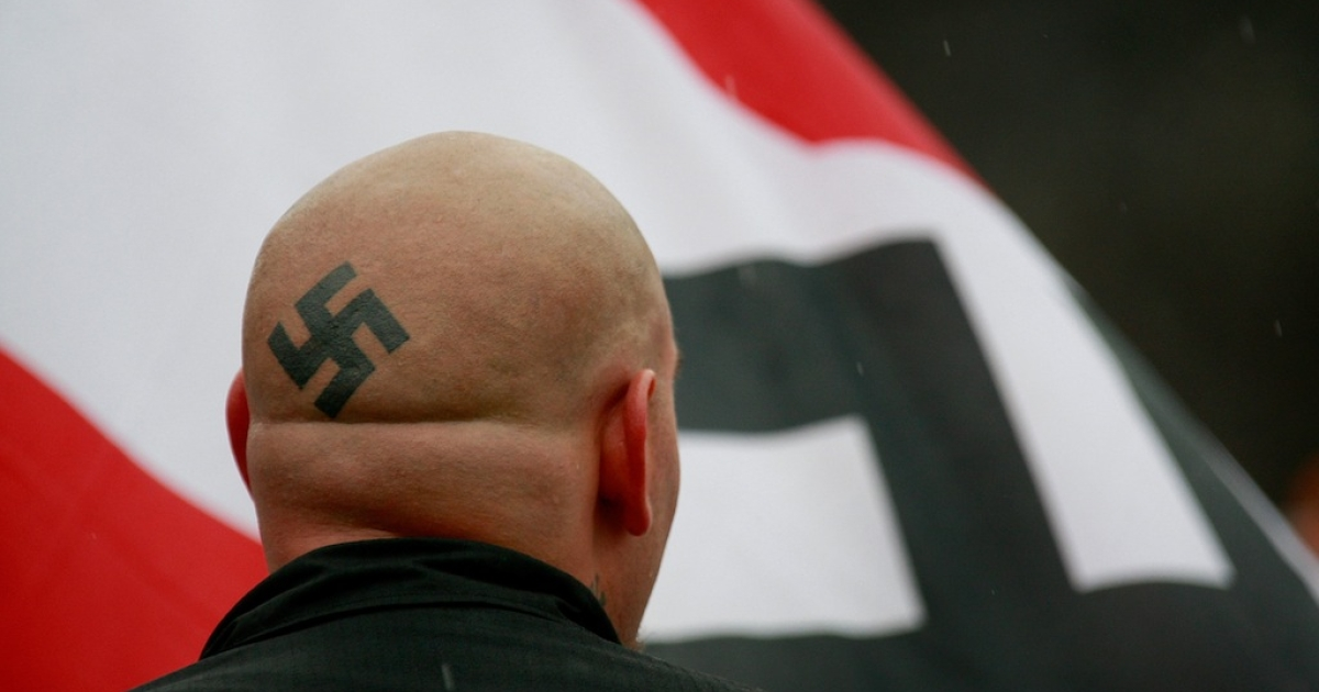 Members of the National Socialist Movement say they plan to descend on the tiny town of Leith, North Dakota on Sunday in a show of support for one man who wants to turn the town into a white supremacist enclave.</p>
