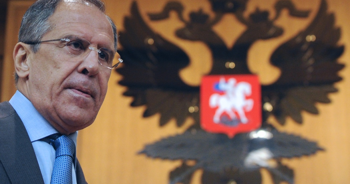 Russian Foreign Minister Sergei Lavrov.</p>