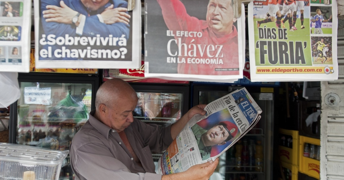 Will all the news that's fit to print cease to be printed in Venezuela?</p>