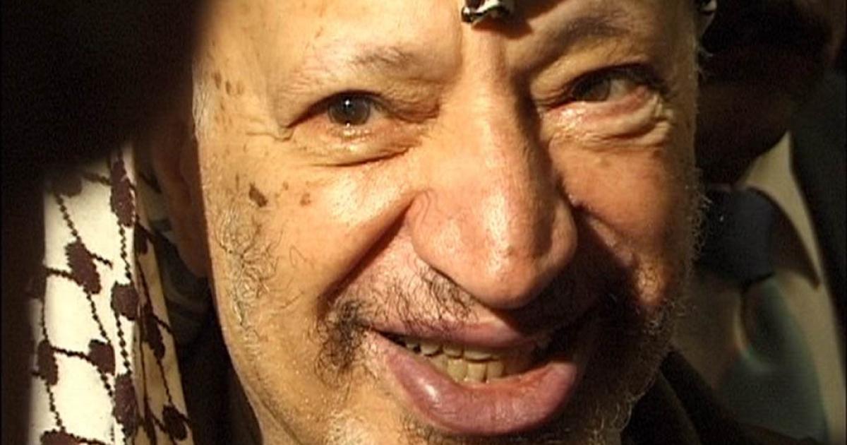 Yasser Arafat.</p>