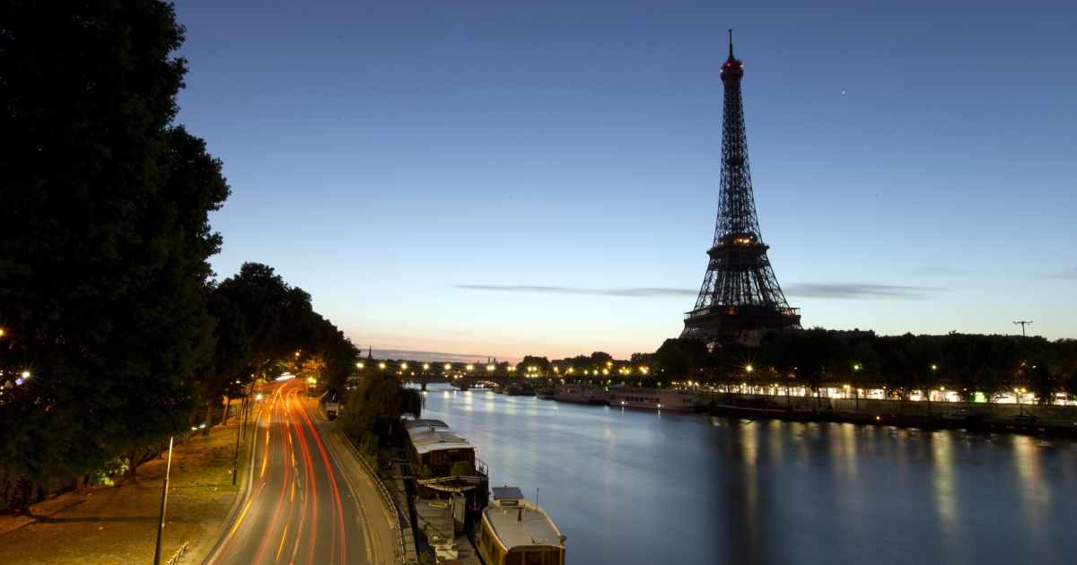 A picture taken on August 10, 2013 shows the Eiffel Tower in Paris. French ministers were given