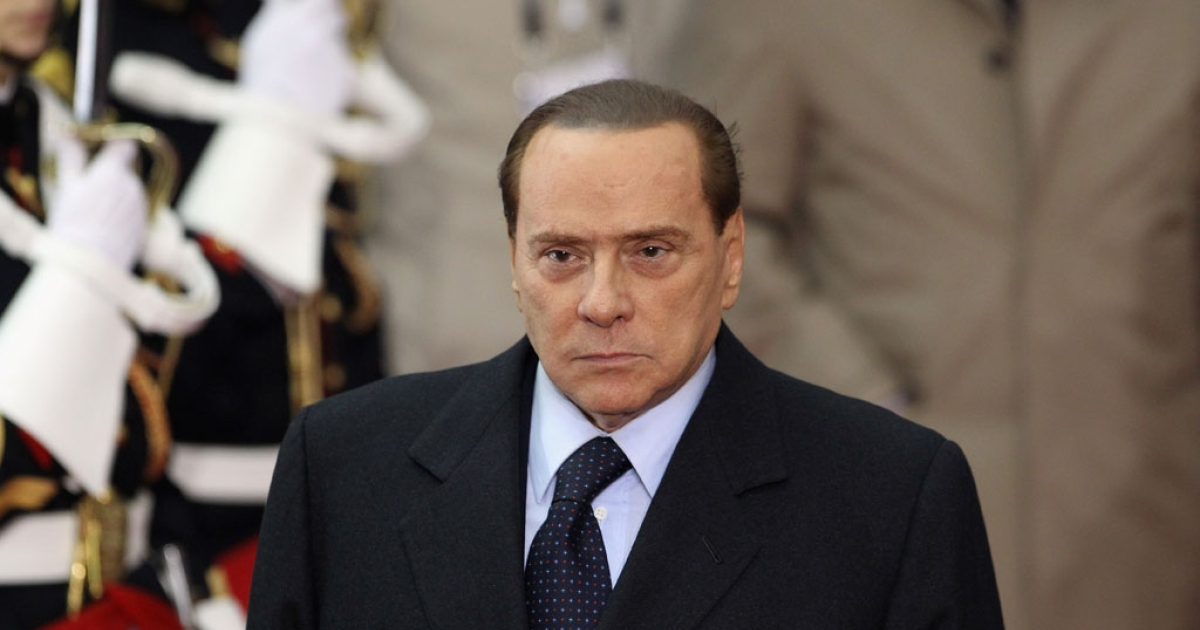 Former Italian Prime Minister Silvio Berlusconi at the G20 Summit on Nov. 3, 2011 in Cannes, France.</p>