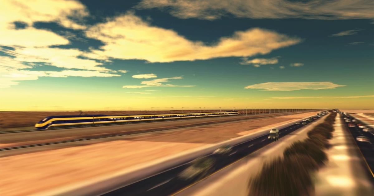 California high-speed dreaming.</p>