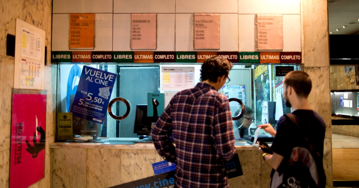 The financial crisis and the high rate of illegal movie downloads have contributed to at least 40 cinemas like the Cuatro Caminos Renoir Cinemas closing their doors in Madrid, Spain in the last 10 years.</p>