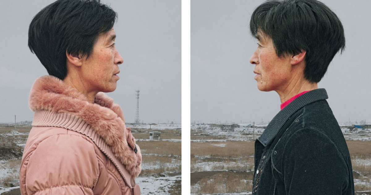 These photos of identical twins over the age of 50 show how fate takes its course.</p>