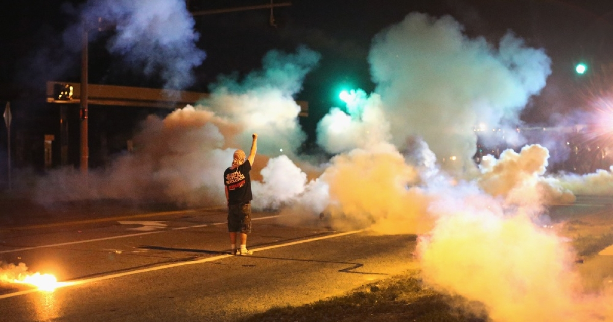 &lt;&gt; on August 13, 2014 in Ferguson, Missouri.</p>