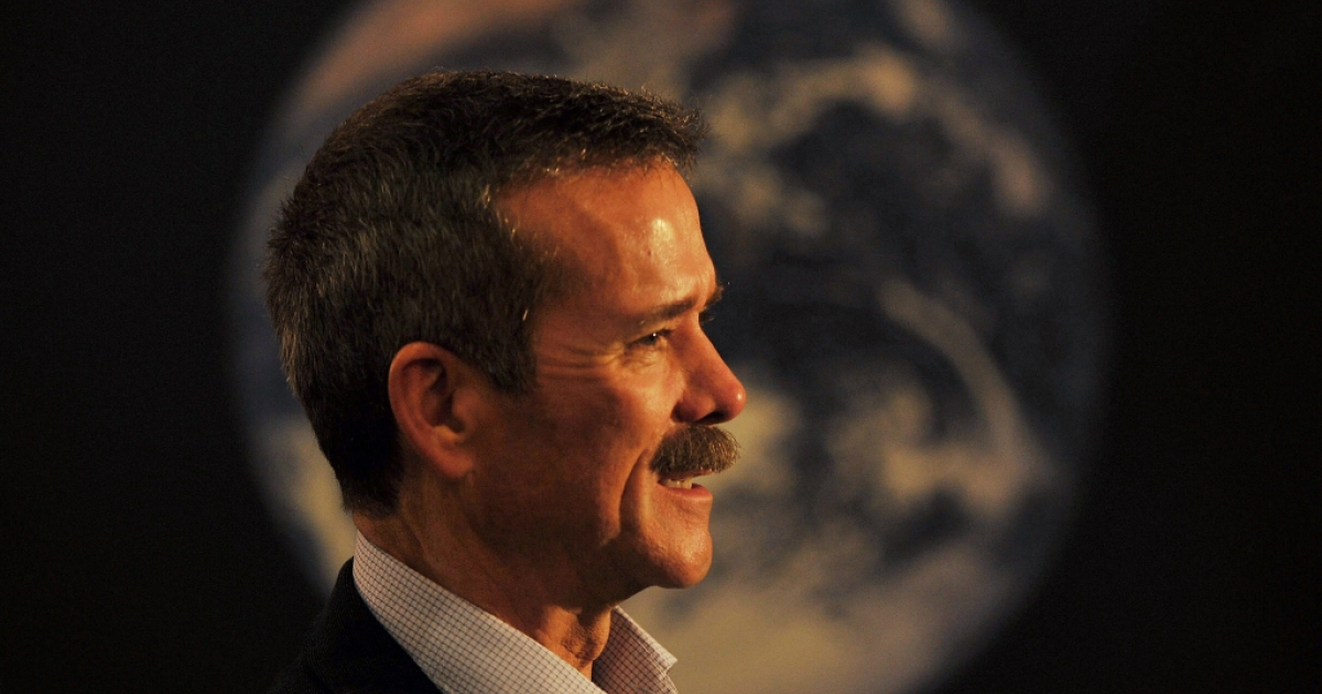 Astronaut Chris Hadfield lived aboard the International Space Station (ISS) as Commander of Expedition 35.</p>