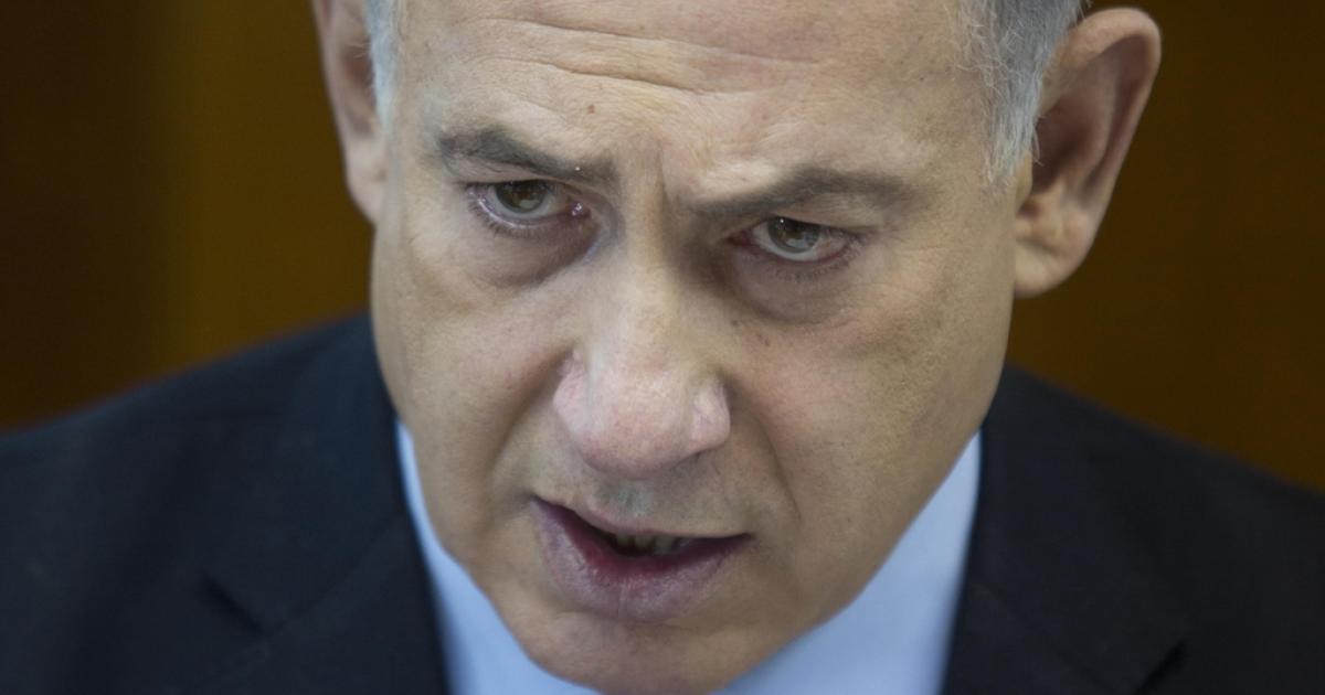 Israeli Prime Minister Benjamin Netanyahu.</p>