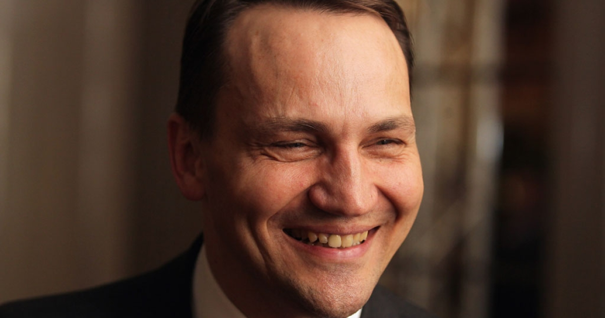 Polish Foreign Minister Radoslaw Sikorski looks on during day 1of the 48th Munich Security Conference at Hotel Bayerischer Hof on Feb. 3, 2012 in Munich, Germany.</p>