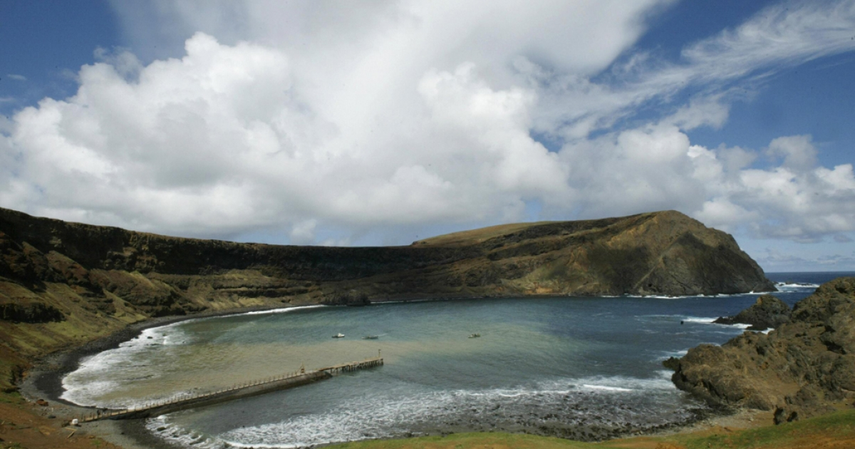 Robinson Crusoe island, about 400 miles west of Chile's central coast.</p>