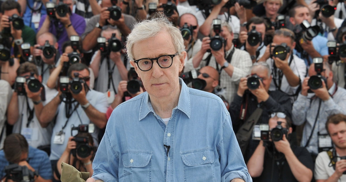 Woody Allen in Cannes, France, May 11, 2011.</p>