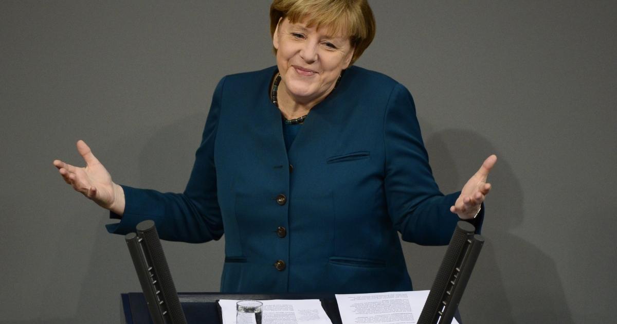 Merkel faces a balancing act.</p>