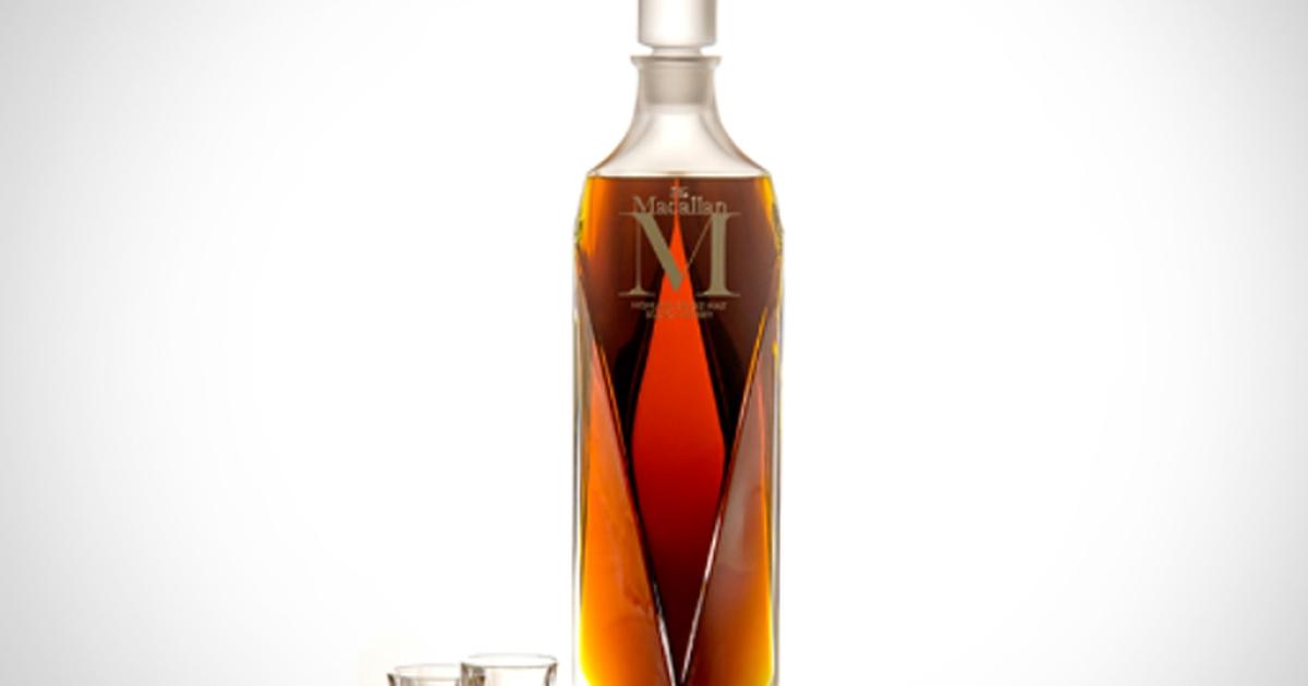 This six-liter bottle of Macallan