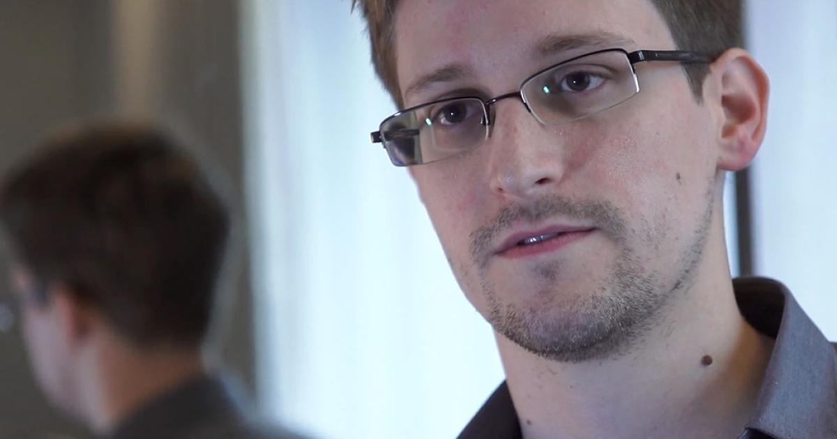Edward Snowden.</p>