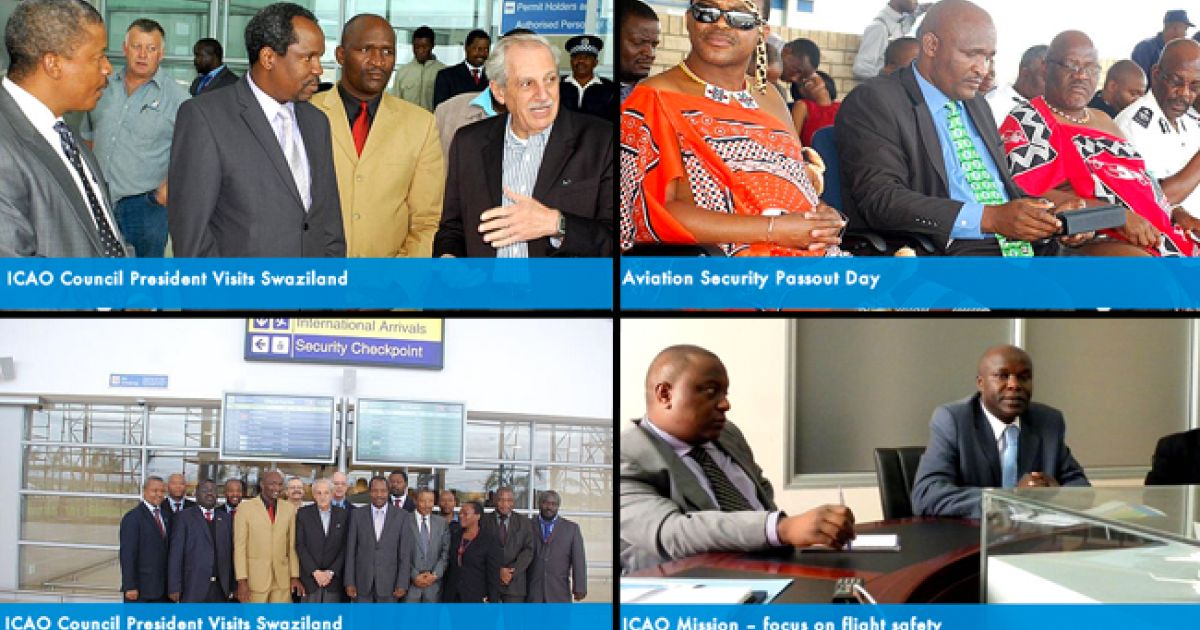 Photos of various events at the Sikhupe Airport, as published by the Swaziland Civil Aviation Authority.</p>