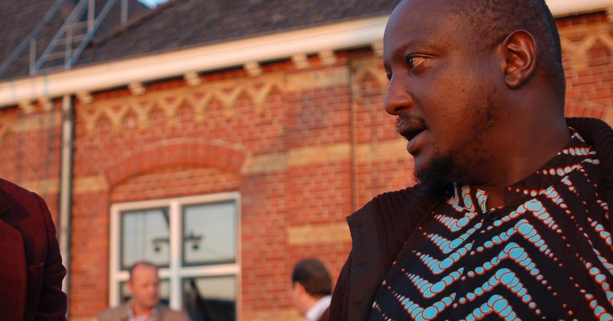 Kenyan author Binyavanga Wainaina.</p>