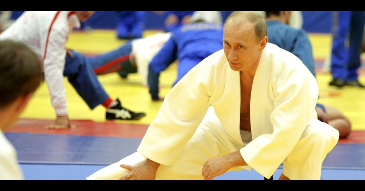 Putin is a judo enthusiast.</p>