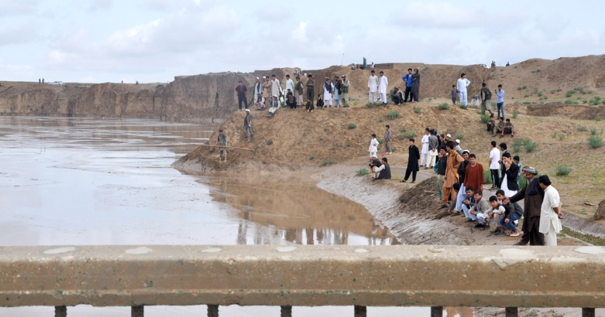 Flash floods in northern Afghanistan caused by torrential rain in April killed more than 180 people.</p>