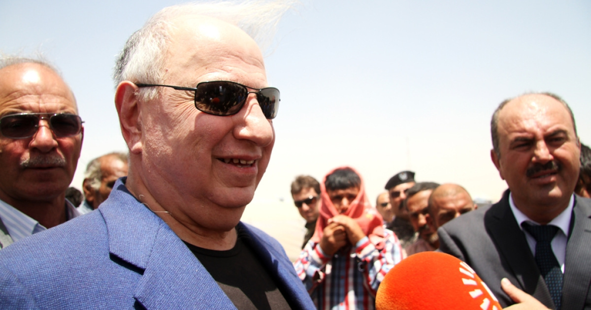 Ahmed Chalabi, who pushed for the US invasion of Iraq, is on the short list to be the country's next PM. The longtime politician staged a press conference Saturday at Iraqi Kurdistan's largest displacement camp.</p>