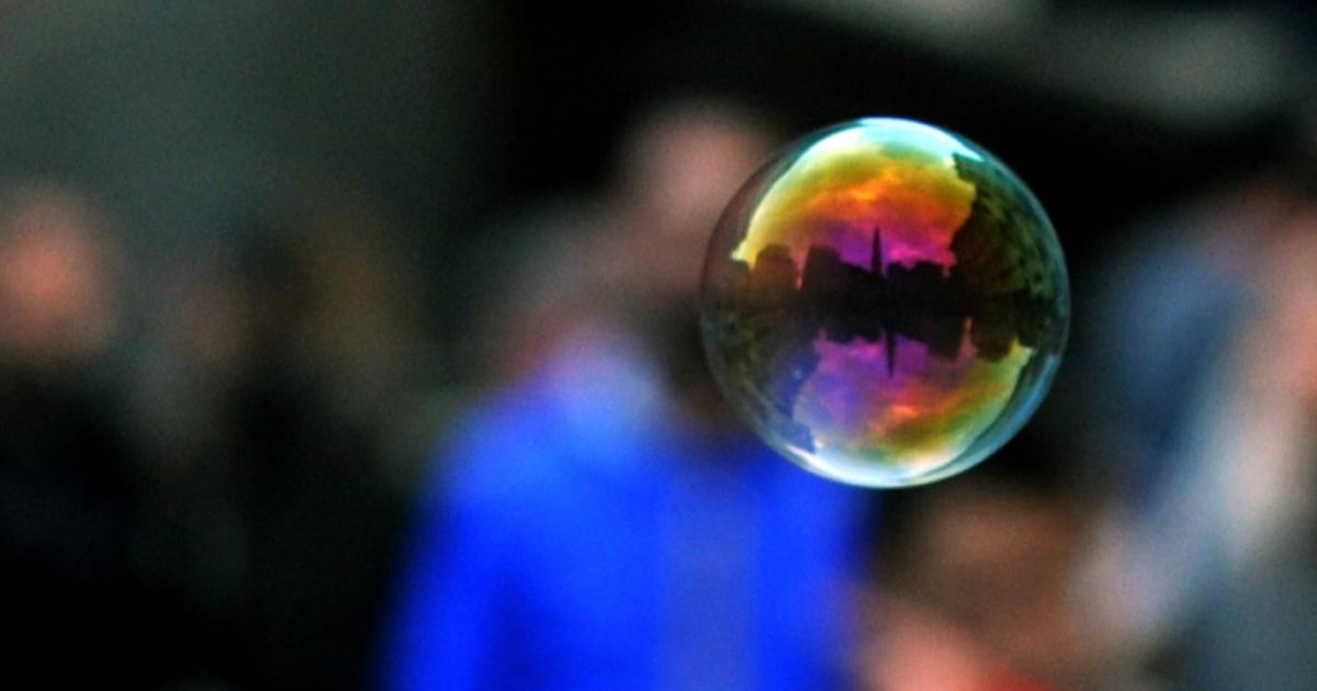All bubbles must eventually burst.</p>