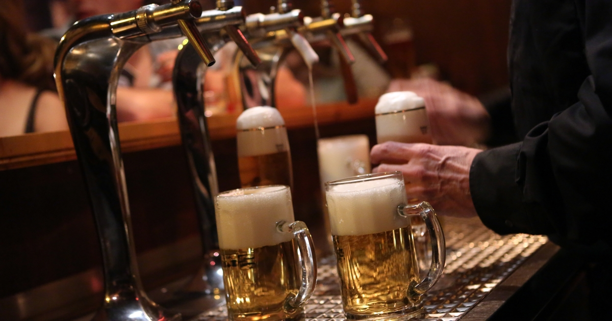 Sales of non-alcoholic beer have doubled over the last 7 years.</p>