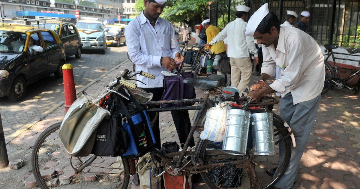 It's an everyday miracle: Dabbawalas deliver home-cooked lunches to workers all over the sprawling, crowded city of Mumbai. And they (almost) never get it wrong.</p>