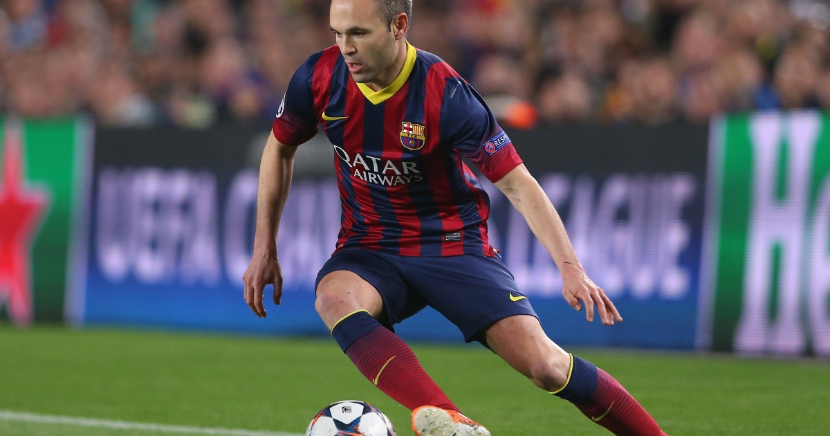 Barcelona's Iniesta: The team remains an immense source of pride for Catalans.</p>