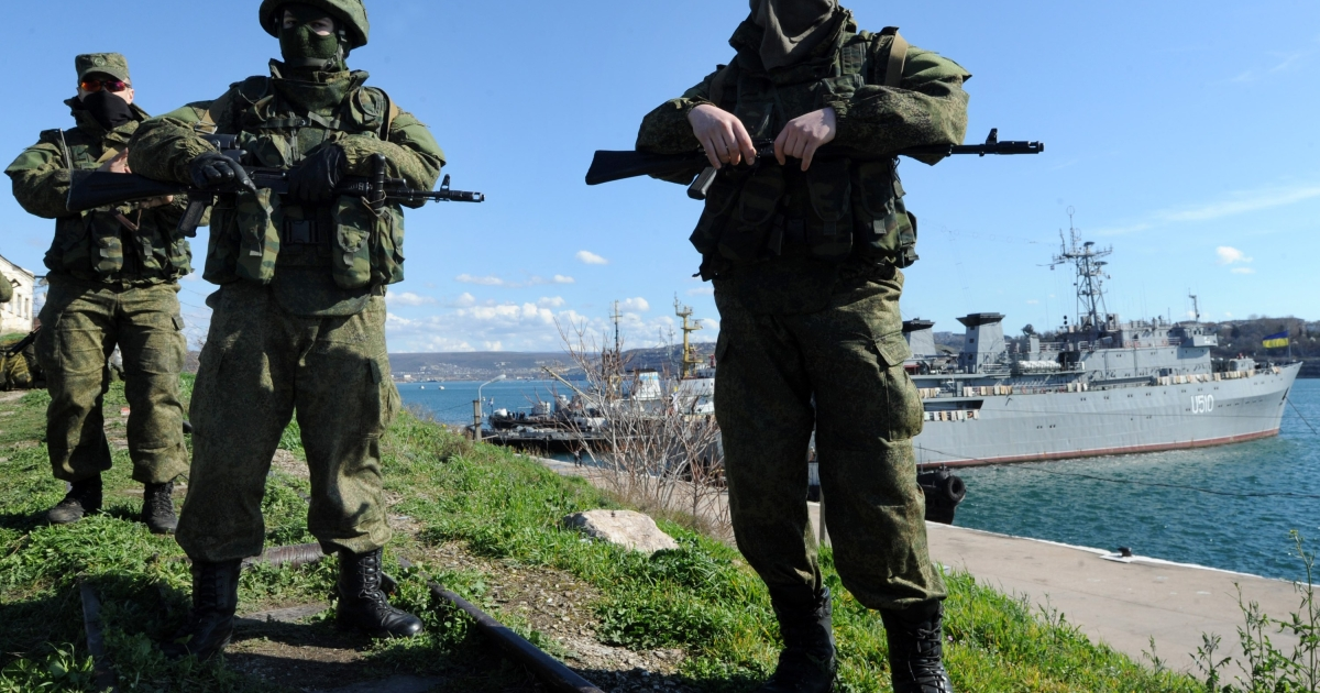 Russian troops in Crimea: How does pushing Ukraine to the verge of civil war benefit Moscow in the long run?</p>