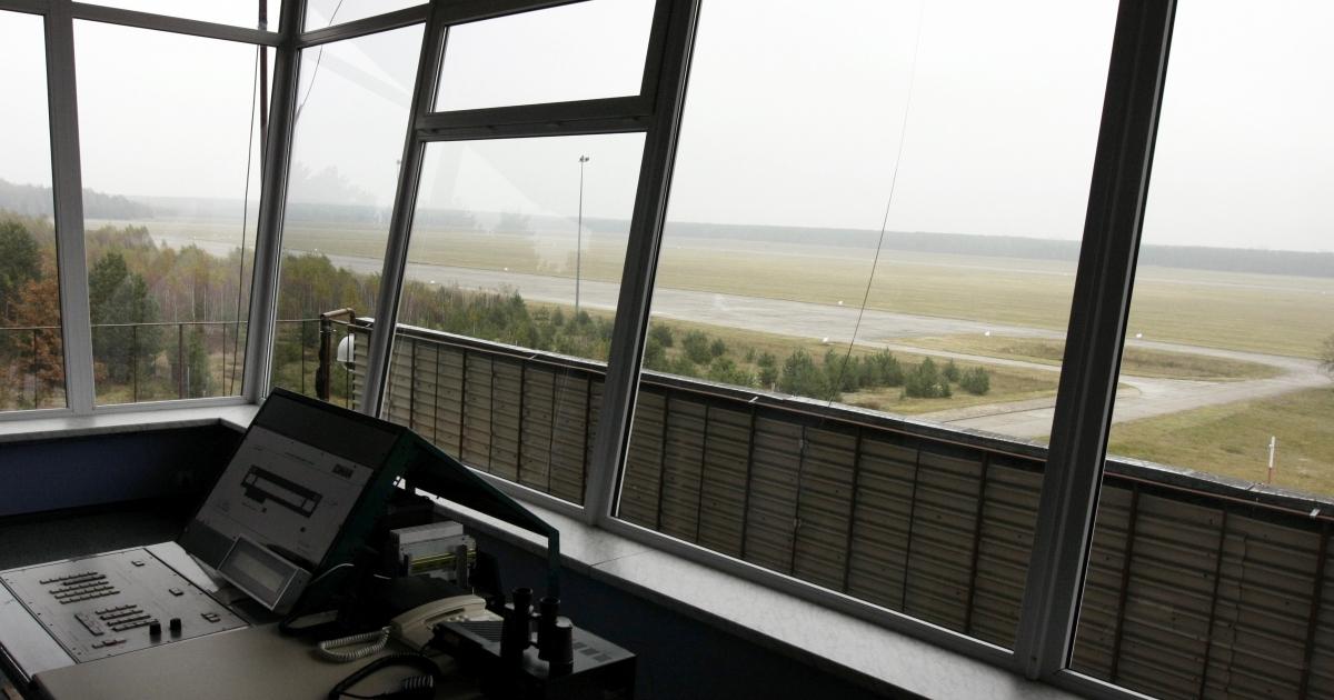 The Szczytno-Szymany airport, where suspected al-Qaeda members were flown en route to the CIA's Polish