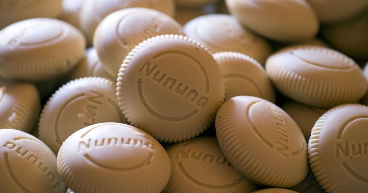 Nununa soaps, made from shea butter in Leo, Burkina Faso.</p>