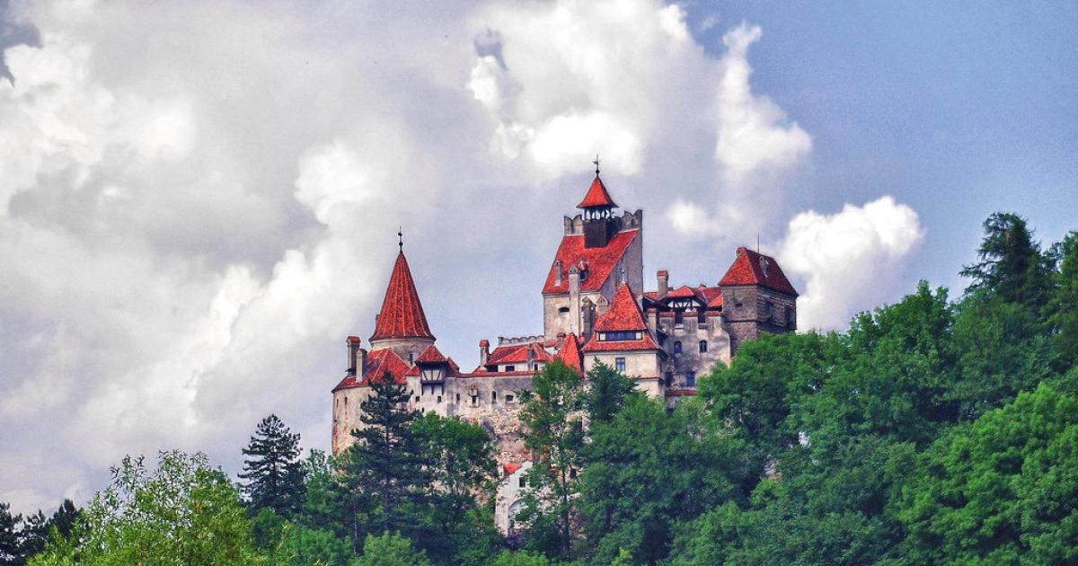 Bran Castle in Transylvania.</p>