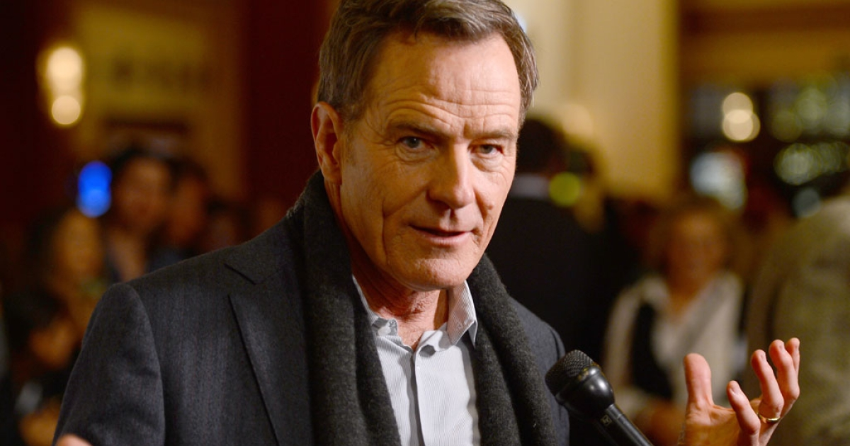 Actor Bryan Cranston, who played lead character Walter White on