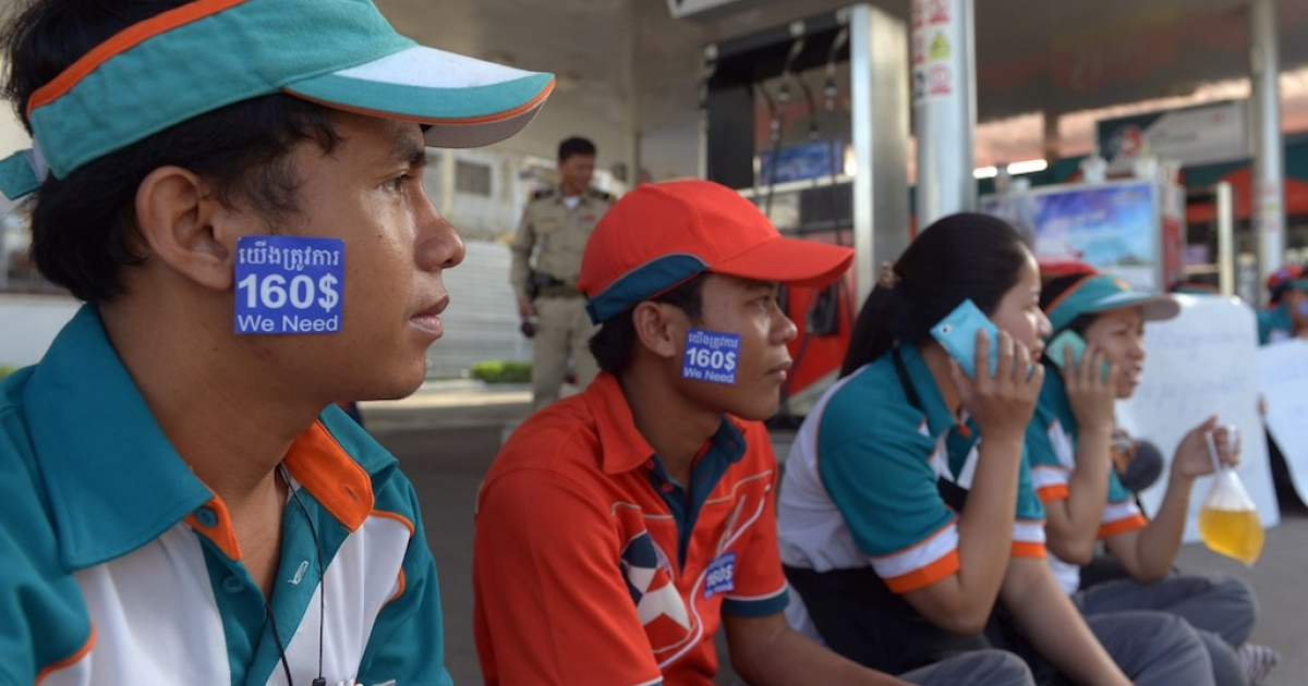 Workers are striking for a wage of about $6 per day, or $160 per month. Is that too much for Chevron Cambodia to pay?</p>