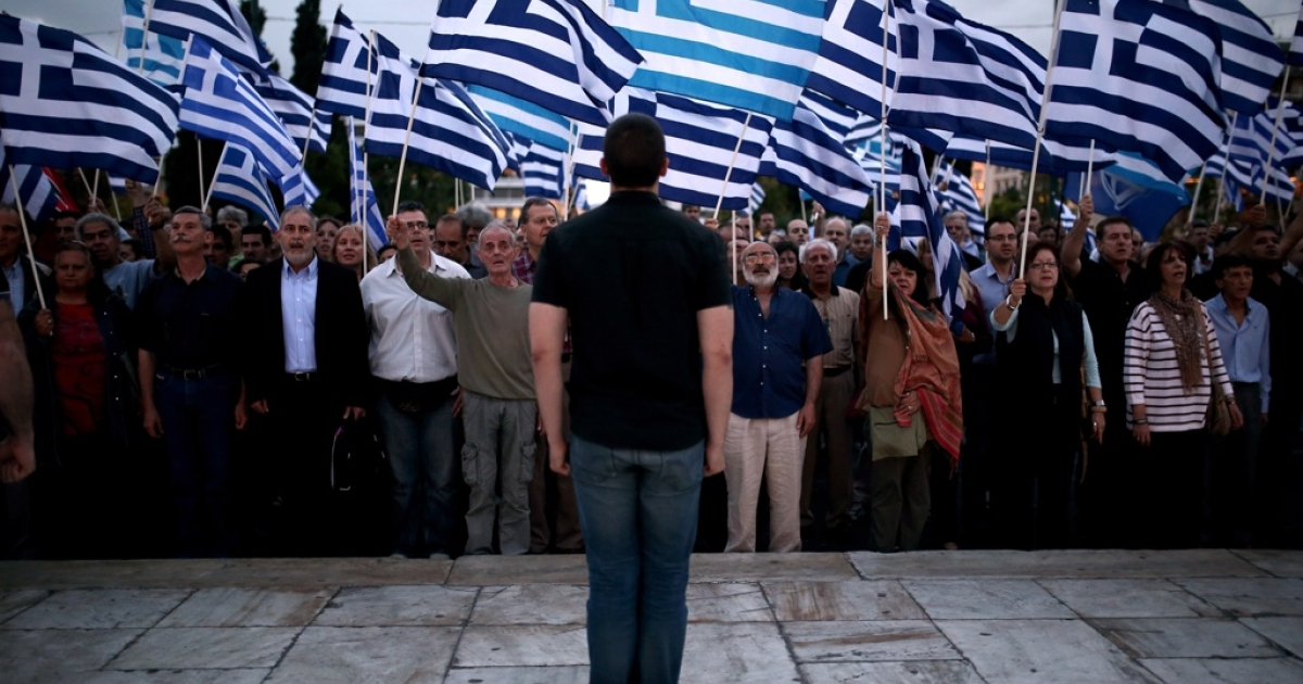 Greece's far-right Golden Dawn party is all riled up.</p>