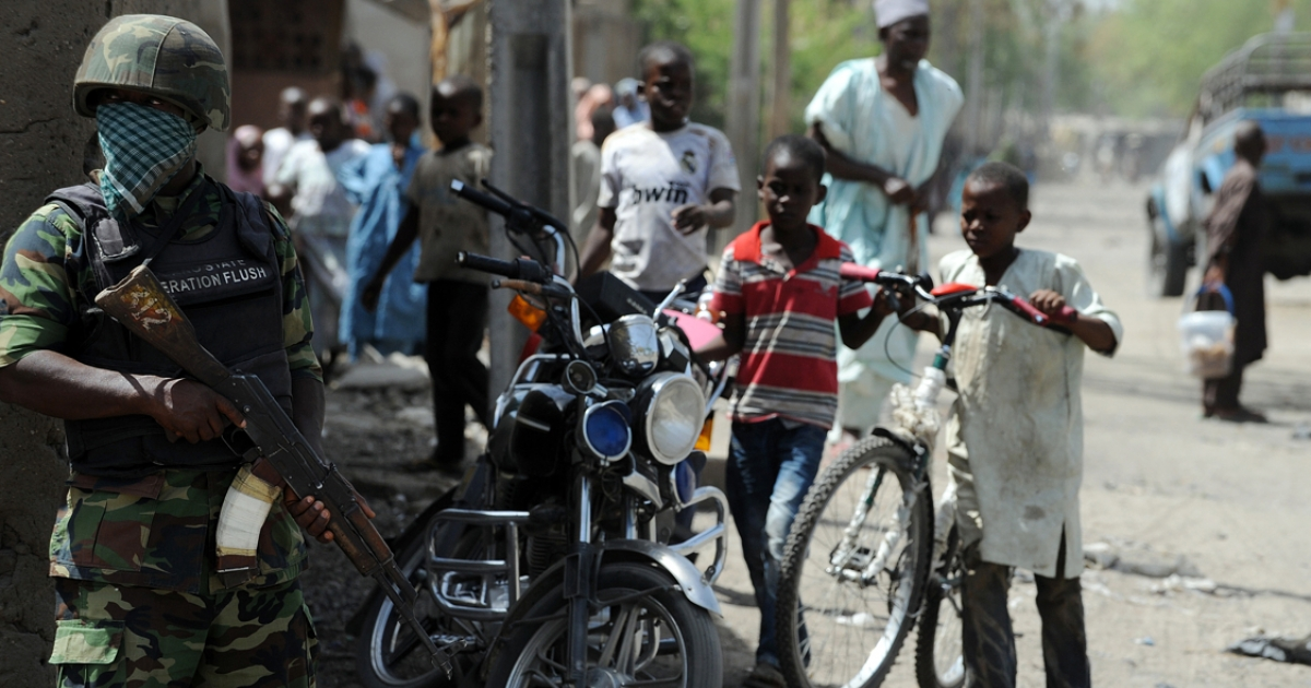 Nigeria's military has been unable to stop Boko Haram.</p>