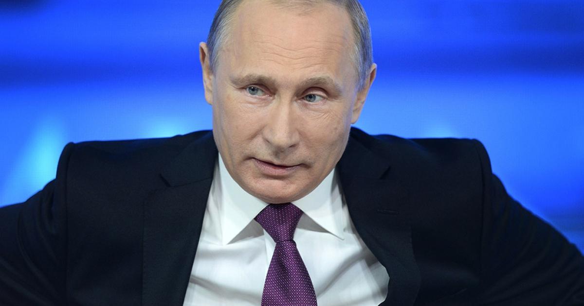 Russian President Vladimir Putin.</p>