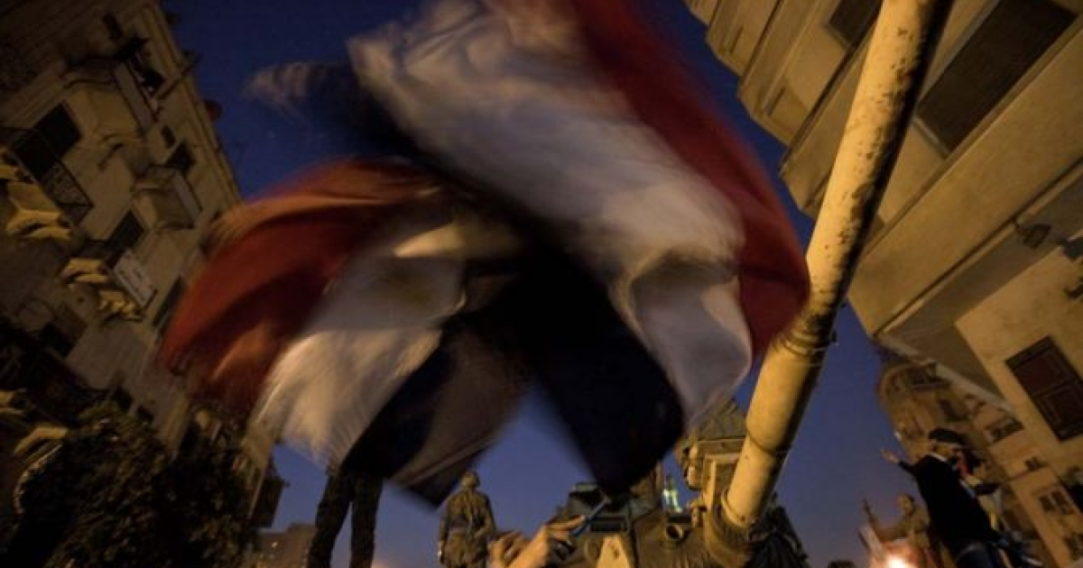 SCENES FROM A REVOLUTION: Cairo's streets exploded in joy when Mubarak stepped down after three-decades of autocratic rule and handed power to senior military commanders, Feb. 11, 2011.</p>