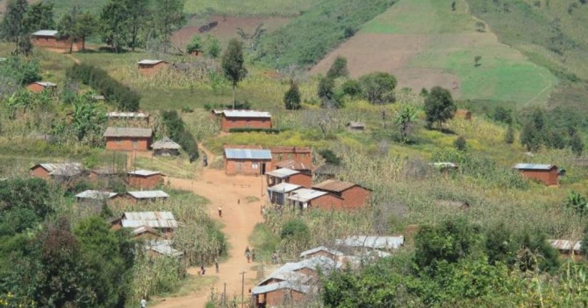 The village of Masita, Tanzania.</p>