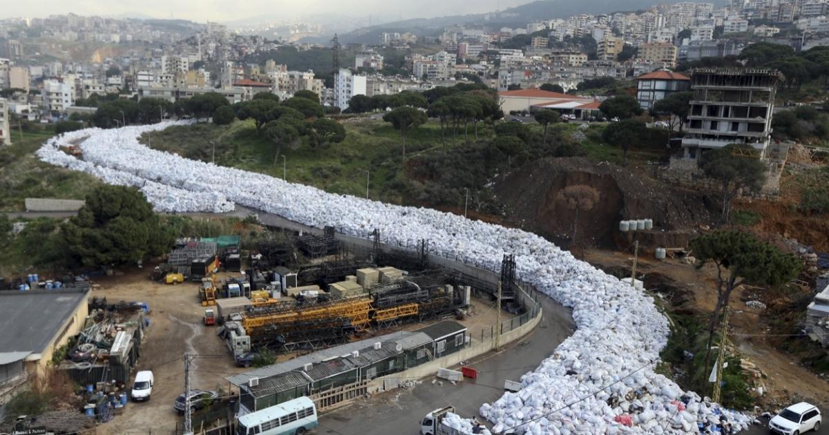 Beirut garbage
