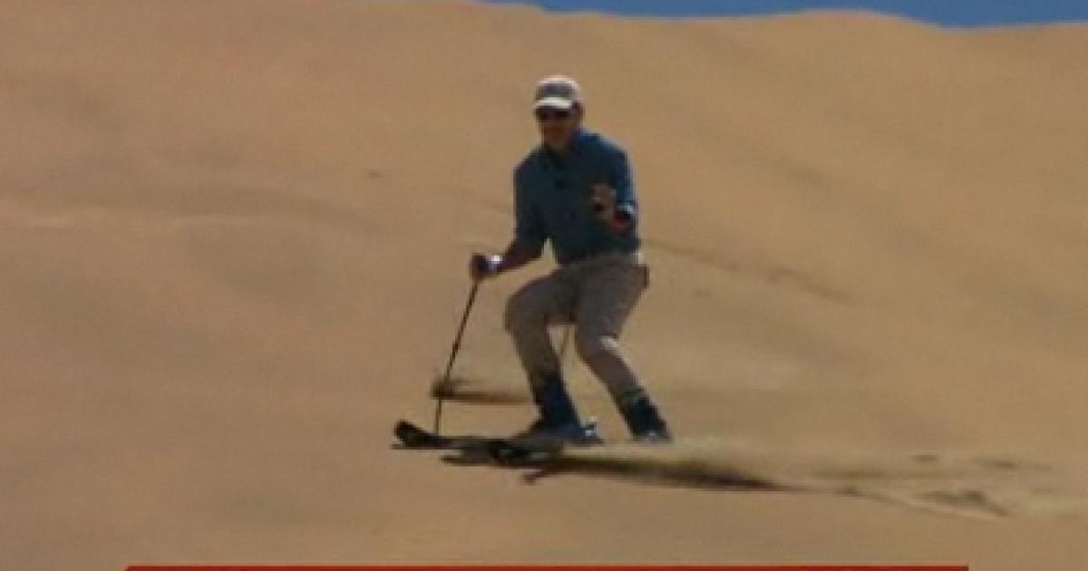 Matt Lauer visits Namibia.</p>