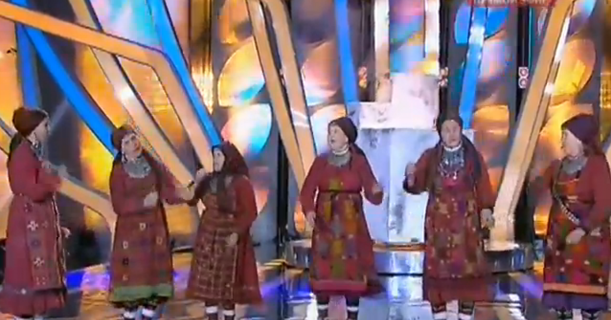 Buranovskiye Babushki perform their 2012 Eurovision entry,