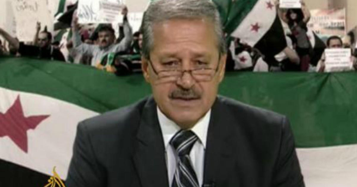 Nawaf Fares, Syria's former ambassador to Iraq, made a video statement announcing that he had joined the opposition and urging others to do the same.</p>