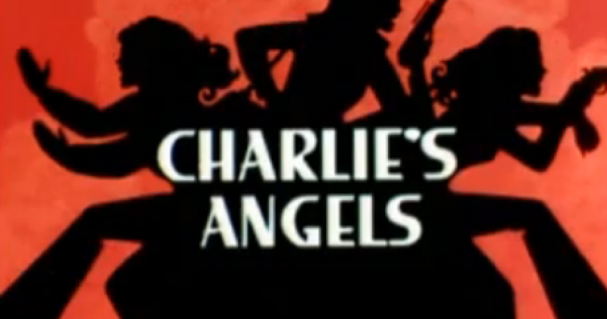 Opening credit scene from Charlie's Angels</p>