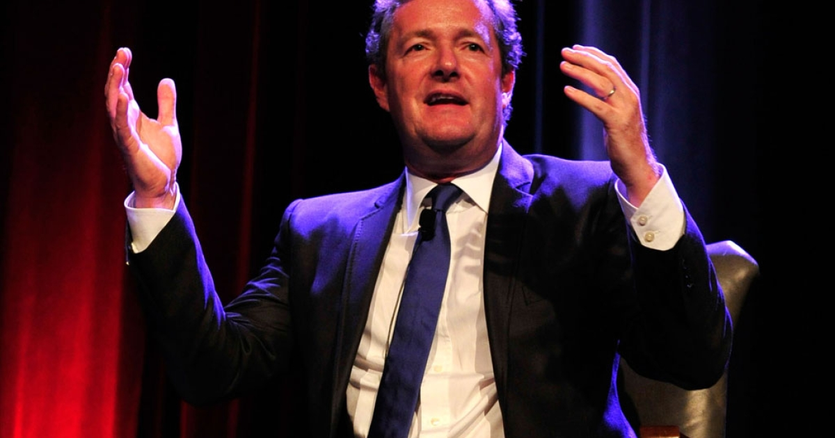 Television personality Piers Morgan speaks at a Children's Hospital Los Angeles benefit on May 4, 2012, in Beverly Hills, California.</p>