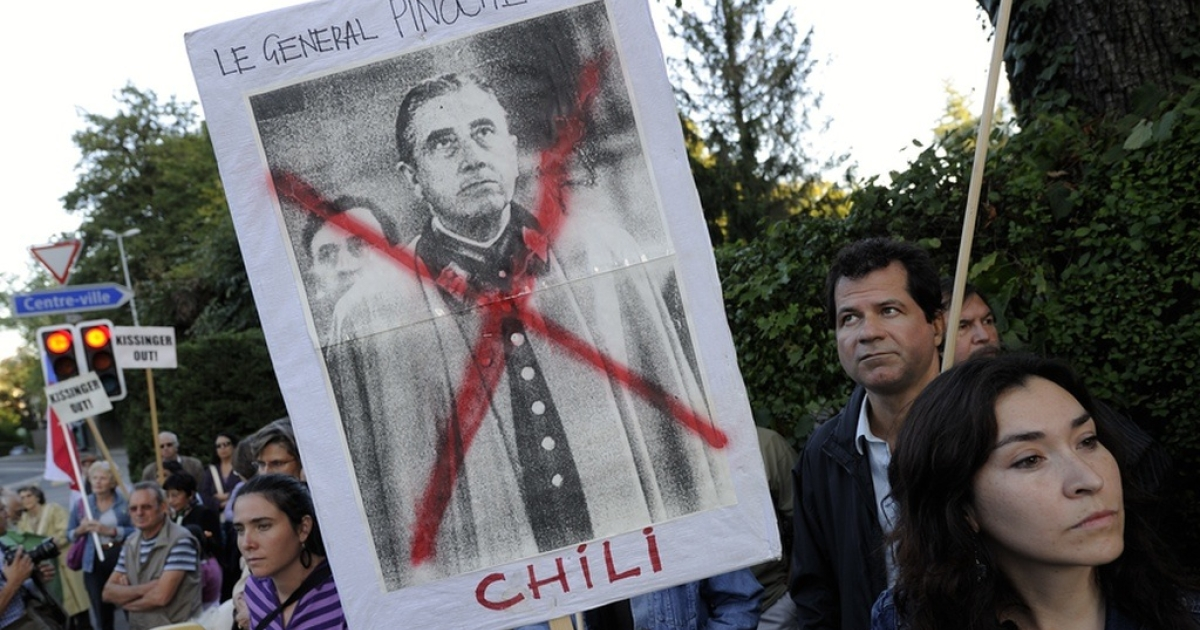 Anger flares over the Pinochet regime.</p>